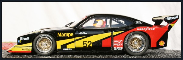 Fly Ford Capri RS Turbo Hockenheim DRM 1978 Mampe No. 52 (Hans Heyer GER) A144
