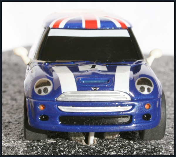 Mini Cooper Racing British Flag
