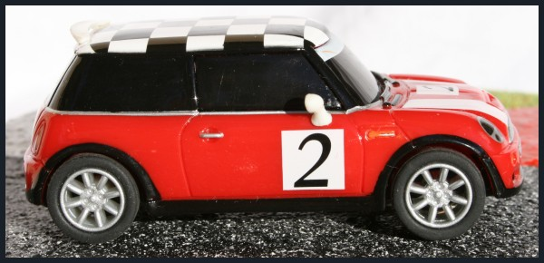 Mini Cooper Racing right Carrera