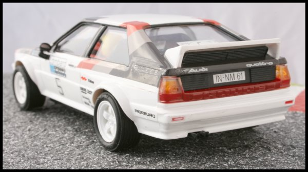 SCX Audi Quattro 25th Anniversary hinten links